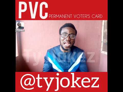 PVC Permanent Voter's Card with Ty Jokez