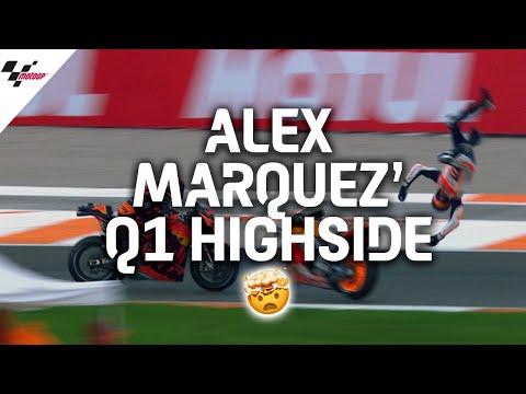アレックス・マルケスが大転倒!ハイサイドで転倒クラッシュのマルケスの容体は?!MotoGP バレンシアGP