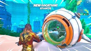 ATLANTIS POI Now In Fortnite! (UPDATE)