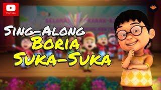 Upin & Ipin - Boria Suka-Suka [Sing-Along]