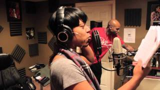"Ebony Eyez feat T-Wrong ""Giant"" (In Studio Performace)"