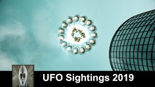 UFO Sightings 2019 Huge Mother Ship And Something In A Snow Storm