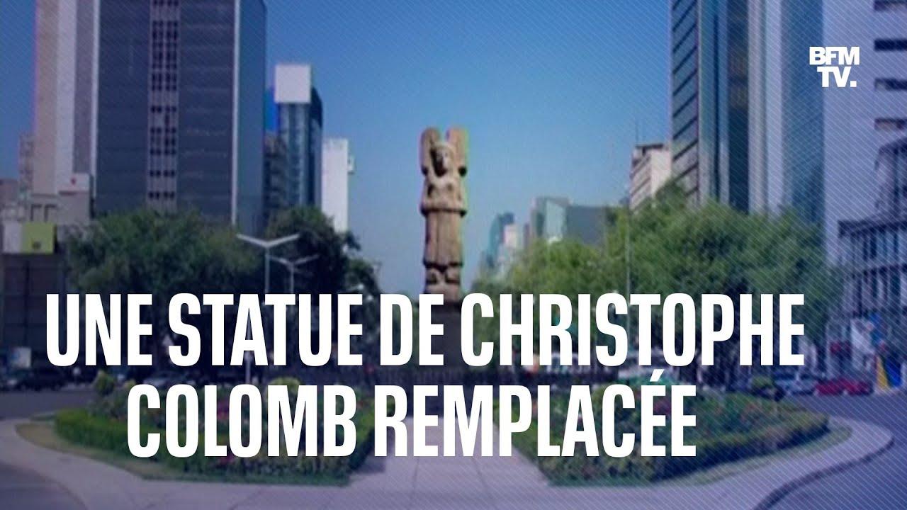 Au Mexique, une statue de Christophe Colomb va être remplacée par celle d'une femme indigène