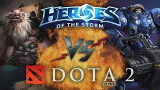 Рэп Баттл - Heroes of the Storm vs. Dota 2