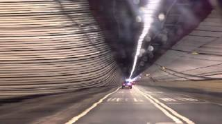 preview picture of video 'Dartford Tunnel - Slit Scan'