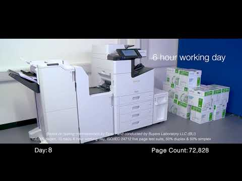 WorkForce Enterprise WF-C20590: 100K pages reliability test