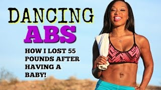 Keaira LaShae- Dancing ABS WORKOUT (How To LOSE BELLY FAT) by superherofitnesstv