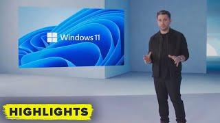 WINDOWS 11! Watch world-first reveal (full Microsoft live clip)