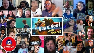 Live Reaction: KING K. ROOL in Super Smash Bros Ultimate | 30+ Youtuber Synched Compilation