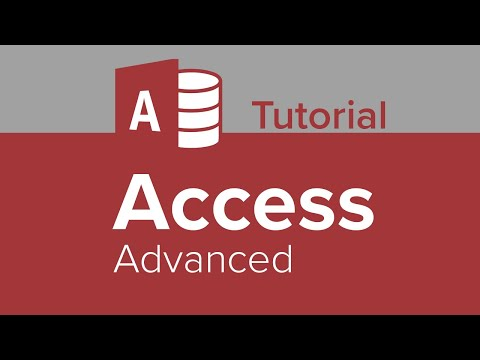 Access Advanced Tutorial - YouTube
