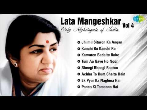 Download Best of Lata Mangeshkar - Vol 4 | Jhilmil Sitaron Ka Angan | Kanchi Re Kanchi| Karvaten Badalte Rahe Mp4 HD Video and MP3