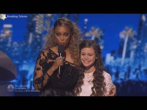 """Teaser- Did Simon call Angelina Green """"Angelica""""? Why Heidi so moved by her Perfornance? AGT 2017 (видео)"""