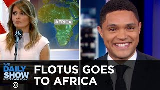 FLOTUS Goes to Africa & Facebook Gets Hacked Again | The Daily Show