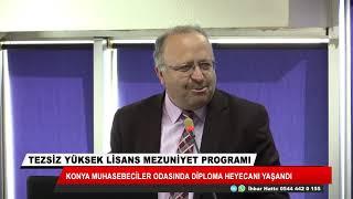 Konya Muhasebeciler Odası'nda diploma heyecanı