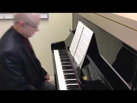 """""""Deep River"""", arranged by Larry Schackley"""