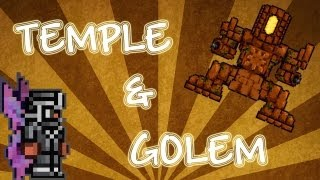 Terraria: Temple and Golem Guide! Boss battle & drops!
