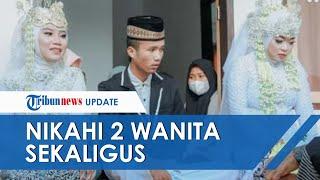 Viral Video Pemuda di Lombok Nikahi 2 Perempuan Sekaligus, Baru Kenal Sebentar Lewat Facebook