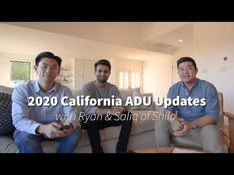 2020 California ADU Regulation Updates