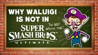 Why Waluigi is Not in Super Smash Bros Ultimate