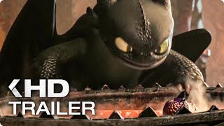 HOW TO TRAIN YOUR DRAGON 3 - New Dragons TV Spot & Trailer (2019)