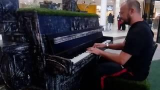 Dream theater the x aspect  street piano Olomouc