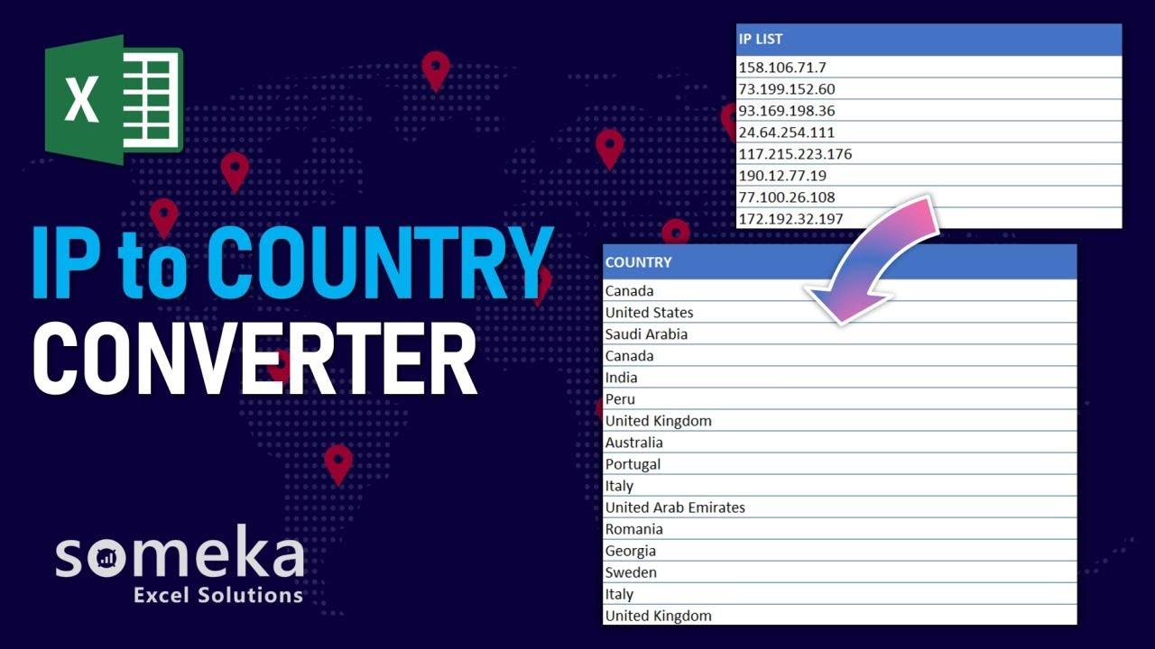 IP to Country Converter - Find IP Address Location
