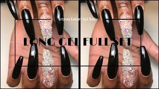 Long Gel Full Set Nails | Kristina Kouture Nail Studio