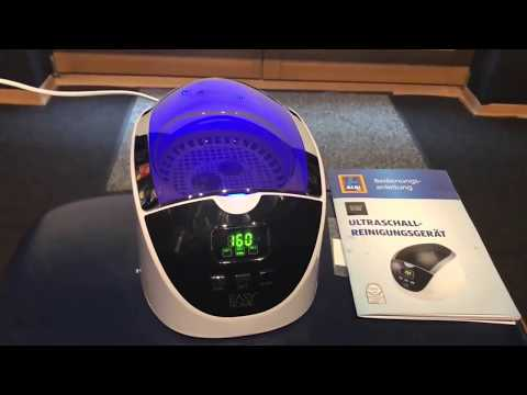 ALDI Easy Home Ultraschall REINIGUNGSGERÄT 2018