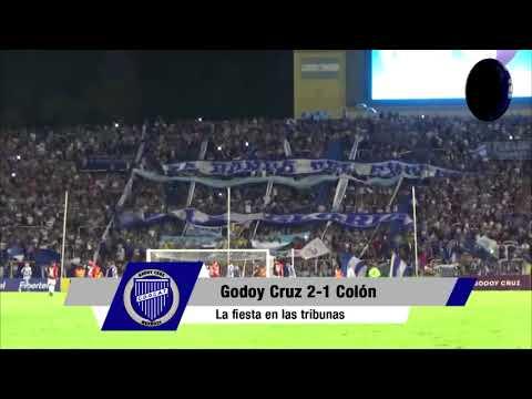 """""""Hinchada vs. Colón de Santa Fe"""" Barra: La Banda del Expreso • Club: Godoy Cruz"""