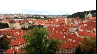 preview picture of video 'Wanna take a quick clip trip?  OK!  Let's do  a Panorama view of Prague Czechoslovakia!'