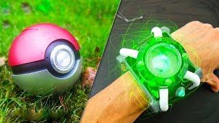 5 CARTOON GADGETS IN REAL LIFE ▶ Ben10 Omnitrix Pokemon Ball