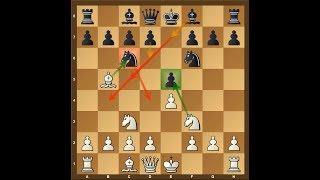 Dirty Chess Tricks 44 (4 Knights Tricky Line)
