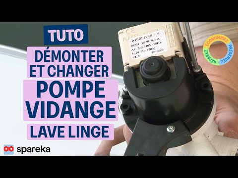 comment demonter machine a laver whirlpool
