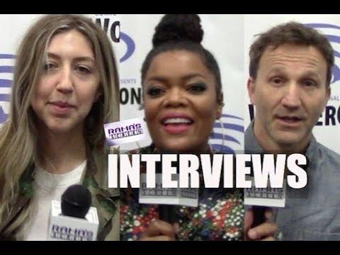My Interviews with Heidi Gardner, Yvette Nicole Brown & Breckin Meyer | 'SuperMansion'