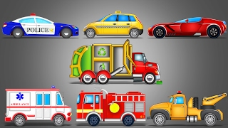 Street Vehicles   LearnIng Vehicles   Car Cartoon   Video For Kids