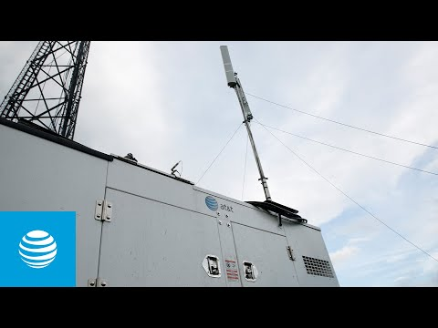 AT&T Uses Satellite Emergency Communication Portables-YoutubeVideoText