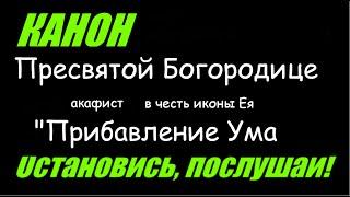 """Молитва о детях - Богородице в честь иконы Ея """"Прибавление Ума"""" #Акафист"""