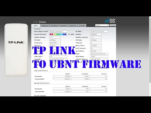 Flashing Tp-Link ke Ubiquiti | Firmware Ns2 - Youtube Download