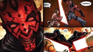 Darth Maul's Brutal Rampage not shown in The Clone Wars [Legends] - Star Wars Explained
