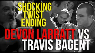 Devon Larratt Armwrestling Travis Bagent (best Of Five) With Shocking Twist Ending! DO NOT MISS!