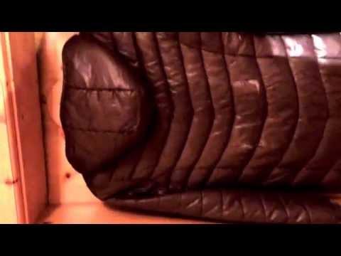 Jackenripp: brauner Mantel 2.2