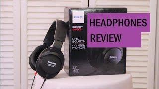 Philips SHP2600 Headphones Review   Stu's Reviews