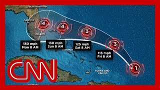 Hurricane Dorian on track to approach Florida as a Category 4 storm on Labor Day
