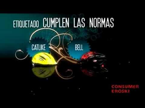 CONSUMER EROSKI analiza 8 cascos de bicicleta de niños y jóvenes