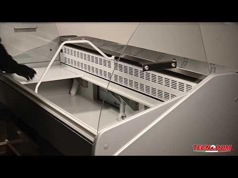 Video Vitrine réfrigérée horizontale MASTER PLUS 3000mm TECNODOM