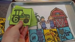 Hands-on Math Activity Centers (PreK, Kinder, Grade 1)
