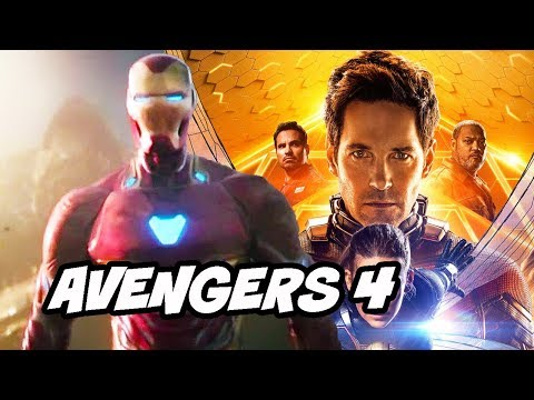 Avengers 4 Ant-Man and The Wasp Post Credit Scene Theory Explained
