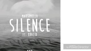 Marshmello Ft Khalid Silence Lyrics
