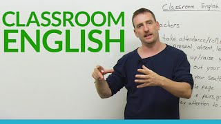Classroom English: Vocabulary & Expressions For Students
