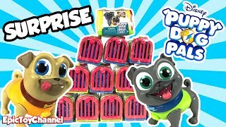 DISNEY PUPPY DOG PALS SURPRISE Travel Pets with Bingo and Rolly + Disney Surprise Toys for Kids